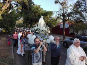 Con procesión concluimos el Mes de María 2018