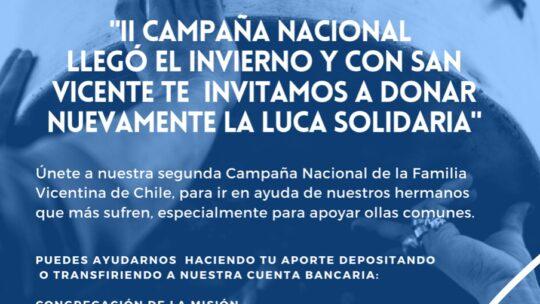 Campaña Solidaria de la Familia Vicentina